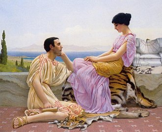 Eternal youth - Youth and Time, John William Godward, 1901