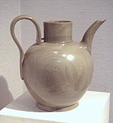 Yue ware stoneware China Five Dynasties 10th century.jpg