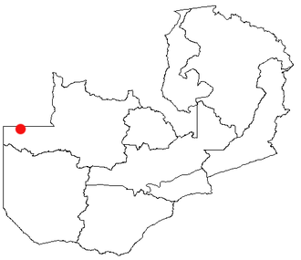 Chavuma - Location of Chavuma in Zambia