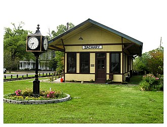 Zachary, Louisiana - Zachary Railroad Depot