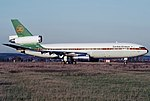 Zambia Airways DC-10-30 N3016Z FCO Mar 1989.jpg