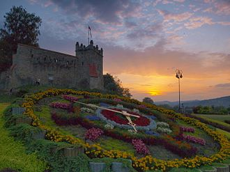 Nowy Sącz - Ruins of the Royal Nowy Sącz Castle