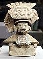 Zapotechi (monte alban, oaxaca, messico), urna funeraria con effige del dio cocijo, periodo classico, 450-650 dc ca. 02.jpg