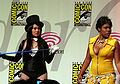 Zatanna's Magic Tricks skit at WonderCon 2010 Masquerade 3.JPG
