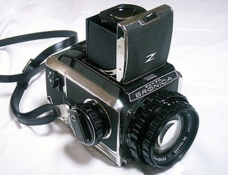 Bronica - Classic Zenza Bronica S2 with Zenzanon 100mm f2.8 lens