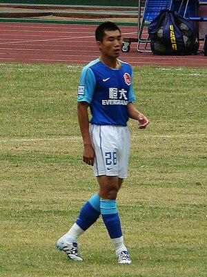 Zheng Zhi - Zheng playing for Guangzhou Evergrande in 2010.