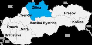 Žilina District - Image: Zilina kraj
