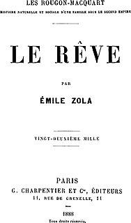 <i>Le Rêve</i> (novel)