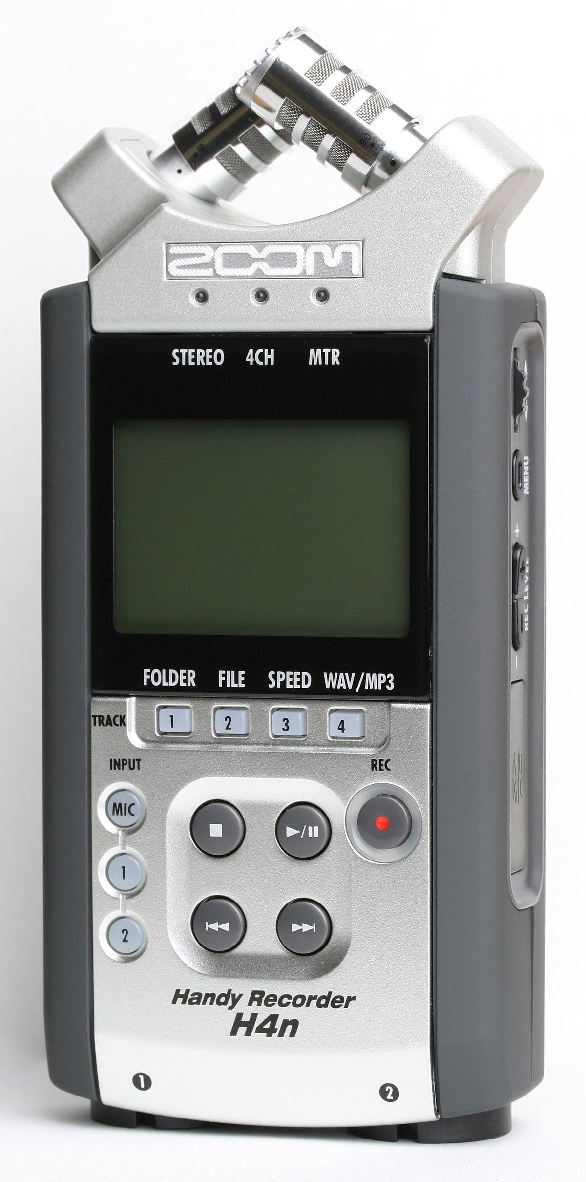 Zoom H4n Handy Recorder Wikipedia
