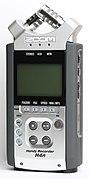 Zoom H4n Digital Recorder-front oblique PNr°0427.jpg