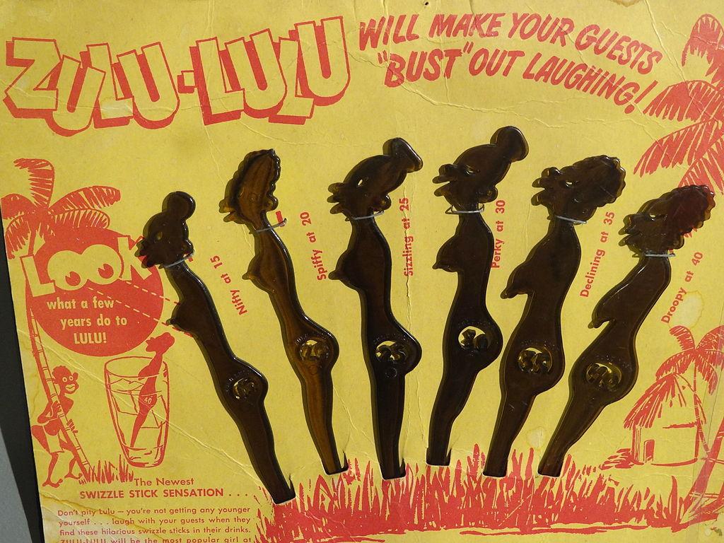 File:Zulu-Lulu Swizzle Sticks - Racist Product - National Civil ...