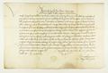 Zygmunt I Stary król polski podaje do wiadomości, iż mieszczanie i kupcy poznańscy pędzący bydło przez kraj, nie są zobowiązani do żadnych innych opłat celnych oprócz ustalonych przez państwo..png