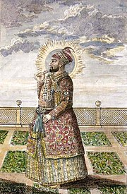 """Hyder Ali,"" a steel engraving from the 1790's (with modern hand coloring).jpg"