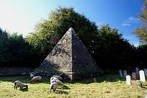 """Mad Jack Fuller - """"Mad Jack"""" Fuller's tomb in Brightling Churchyard"""