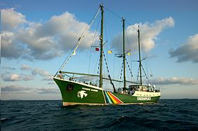 Rainbow Warrior i Bosporen 2009.