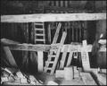 """Roosevelt Dam. Closed entrance of sluice tunnel. Exterior view."" - NARA - 294538.tif"