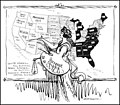 """Two More Bright Spots on the Map"" by Harry Osborn, November 14, 1914.jpg"
