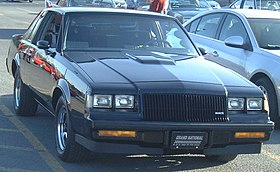'87 Buick Regal Grand National (Auto classique St-Constant '13).JPG