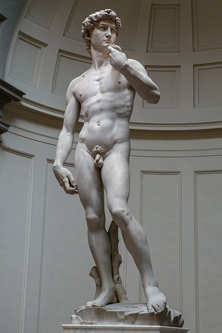 Michelangelo's David 'David' by Michelangelo JBU05.JPG