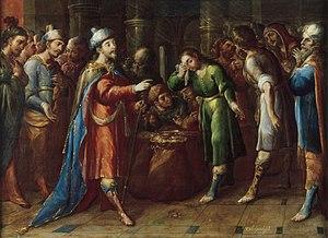 Joseph Claims Benjamin as his Slave