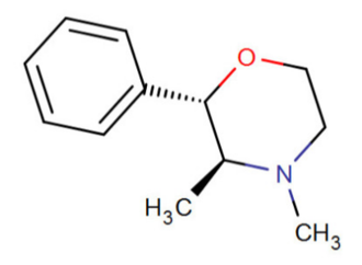 Substituted phenylmorpholine - The 2S,3S isomer of phendimetrazine (i.e. (2S,3S)-3,4-dimethyl-2-phenylmorpholine)