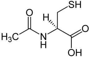 (R)-N-Acetylcysteine Structural Formulae.png