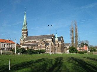 Hyon - Image: Église Hyon D02