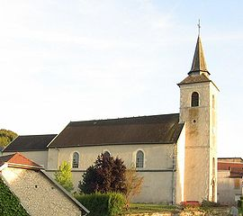 Church of Cussey-sur-l'Ognon