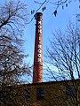České Budějovice, továrna Koh-I-Noor, komín.JPG