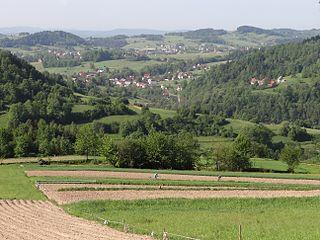 Łętownia, Lesser Poland Voivodeship Village in Lesser Poland, Poland