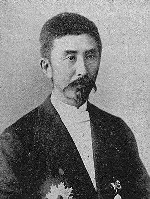 Ōura Kanetake - Ōura in 1898