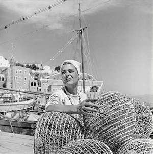 Melina Mercouri - Melina Mercouri in Phaedra, 1962