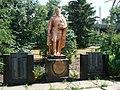 Братська могила воїнів Радянської Армії, партизан і пам'ятник воїнам-односельцям, які загинули в роки Великої Вітчизняної війни,.JPG