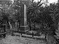 Братська могила радянських воїнів на Кіровському кладовищі (чб).JPG