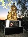 Братська могила радянських воїнів та пам'ятник воїнам-односельцям, Решетилівське, за 2 км на схід від села.jpg
