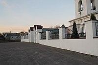 Брянск Георгиевская церковь Ограда с воротами 2.JPG