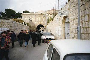 Armenian Patriarchate of Jerusalem - The Street of Armenian Patriarchate