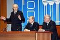 Кирилл Лавров, Владимир Путин, Виктор Садовничий.jpg