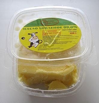 Clarified butter - Russian clarified butter