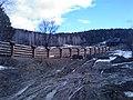 Новый забор базы в дельте Тальменки - panoramio.jpg