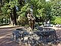 Пушкин, Фонтан со скульптурой «Флора».jpg