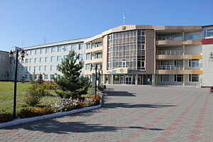 Рудненский индустриальный институт Википедия Оригинальное название Рудный индустриалдық институты