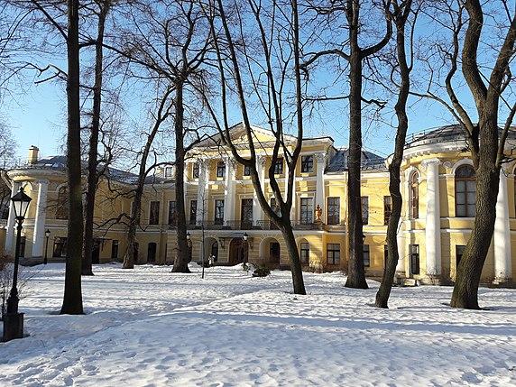 Bobrinsky Palace - Wikipedia