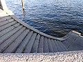 Устой береговой Исаакиевского наплавного моста правый берег спуск 3.JPG
