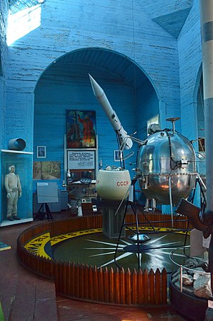 Museum of Space Exploration - Inside the museum