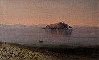 Բաշինջաղյան Գևորգ Սևանա լիճը և կղզին առավոտյան (1896).jpg