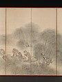山樵漁夫図屏風-Woodcutters and Fishermen MET DP-13582-007.jpg