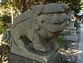 菊田神社 狛犬 - Kikuta Shrine Komainu.jpg