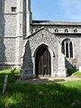 -2021-06-15 South facing porch of Saint Margaret of Antioch, Suffield, Norfolk.jpg