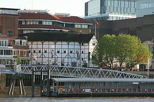Bankside Pier - Image: 001SFEC GLOBE THEATRE 200705